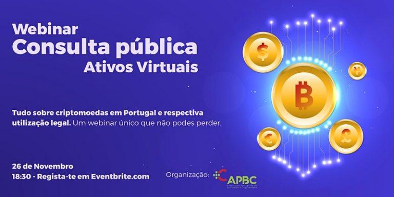 Webinar – Consulta Pública Ativos Virtuais